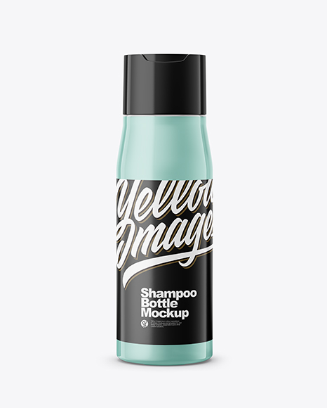 Shampoo Bottle PSD Mockup