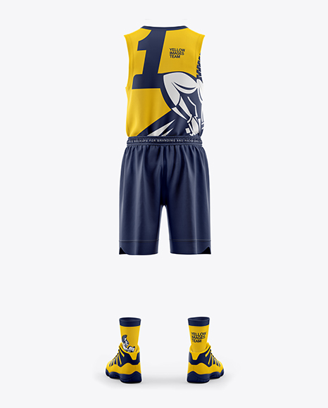 Download Free Mockup Jersey Basketball Yellowimages