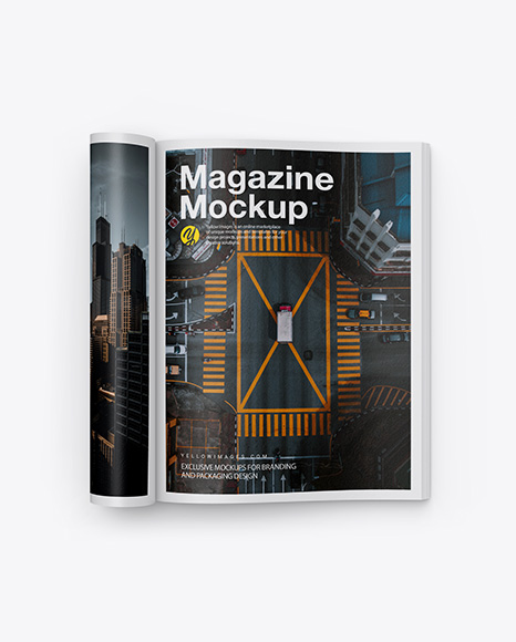 Download Magazine Mockup Psd Free 2019 Yellowimages