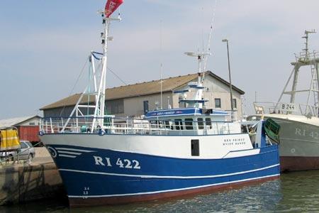 R 222 Bornø när den var RI 422 Kræ Frihed