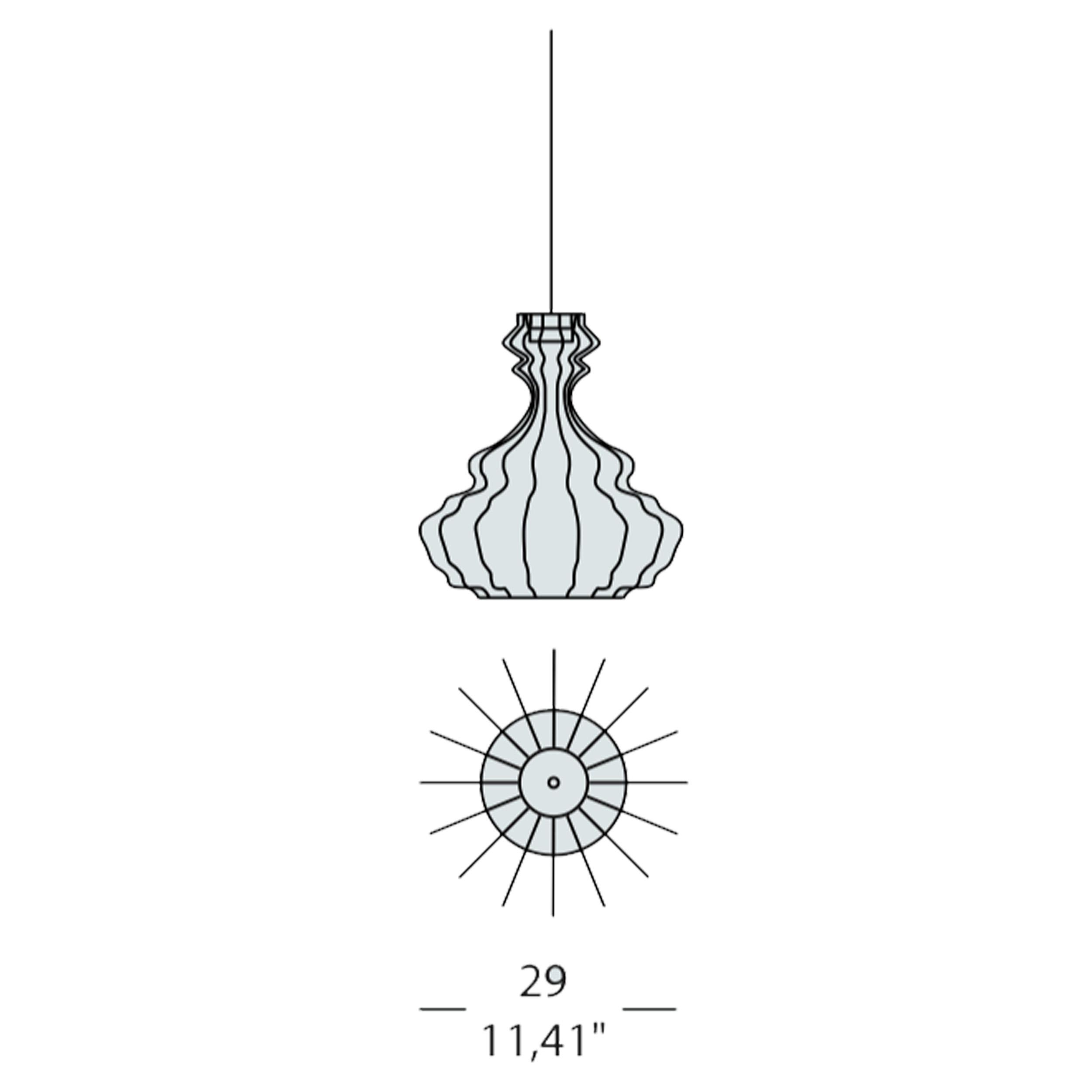 Bia Corinto Small Pendant Light