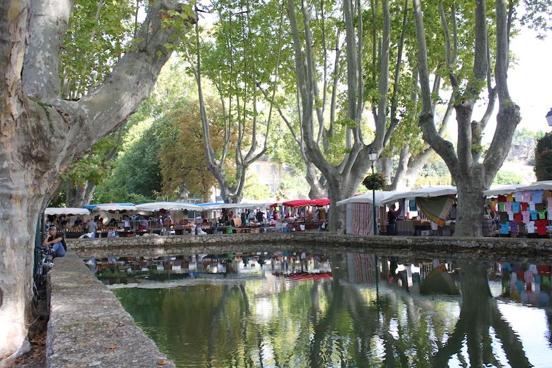 The pond in Cucuron
