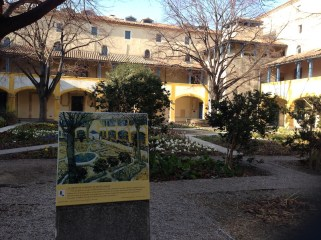 The hospital in Arles where Vincent was admitted after cutting off part of his ear
