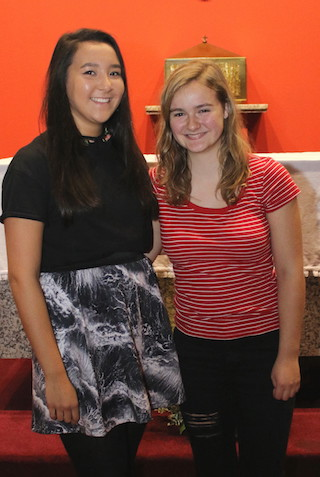 Sui Ning and Anna McCourt, St Bride's Monifieth