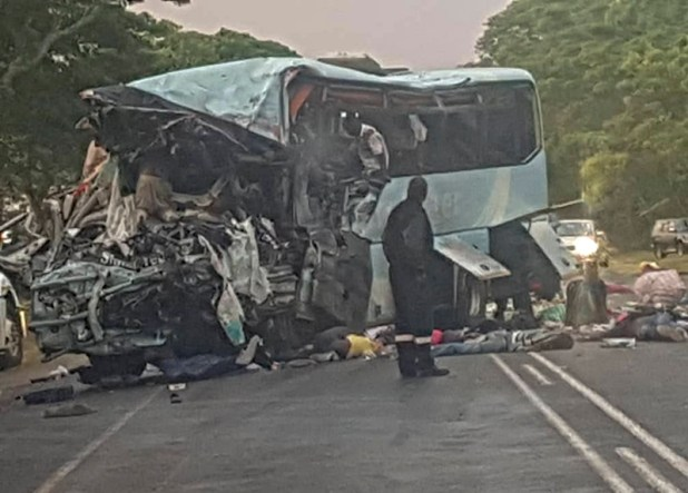 THE END: 47 people died in the terrible Rusape bus crash
