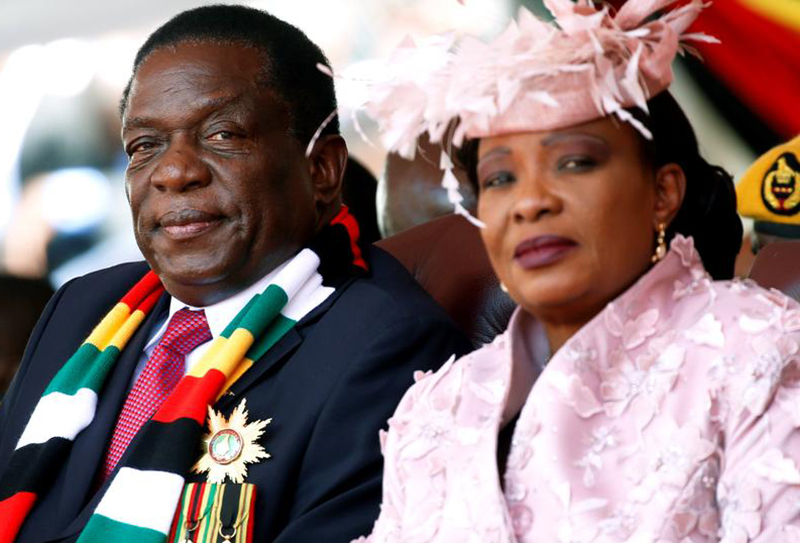 Leaked phone recordings expose Auxilia Mnangagwa's had in Zanu ...