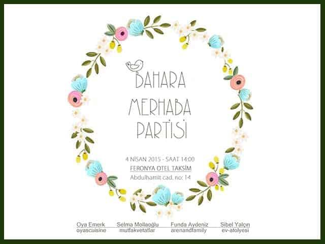 Bahara Merhaba Partisi