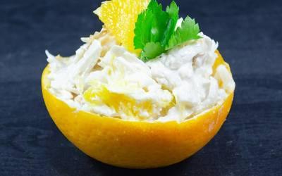 Portakallı Kereviz Salatası