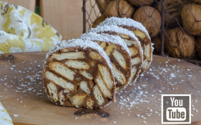 Tahin Pekmezli Mozaik Pasta