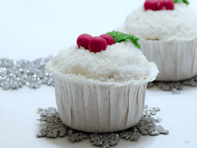 Hindistan Cevizli Cupcake