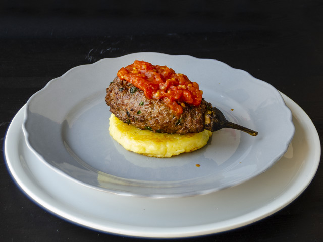 Köfte Mantolu Patlıcan Tarifi