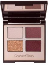Charlotte Tilbury Luxury Colour-Coded Eye Shadow Palette in The Vintage Vamp, £38, Harvey Nichols