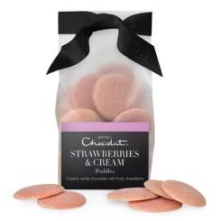 Strawberries & Cream chocolate pubbles, £5.50, Hotel Chocolat