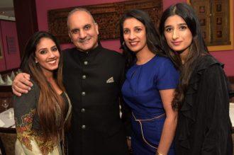 Jasnique Gill, Manjit Gill, Anita Champaneri and Simran Bansal