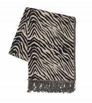 Zebra Throw, £60, House of Fraser