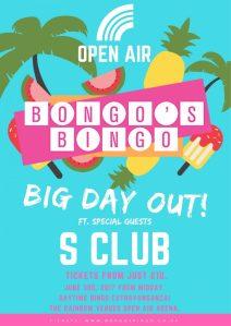 Bongo's Bingo - Big Day Out - At Rainbow, Birmingham
