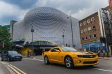 Cineworld 5 - Bumblebee drives by Bullring Shopping Centre-1