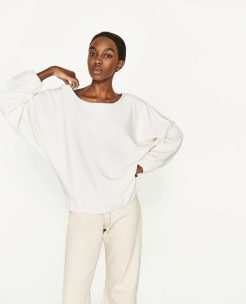 Sweater with Loose-Fit Sleeves, £25.99, Zara