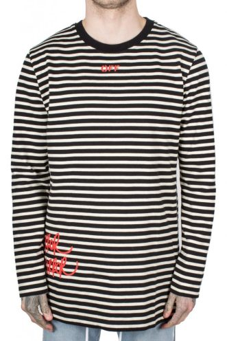 Off-White Mirror Striped Long Sleeve T-Shirt, Autograph (£238)