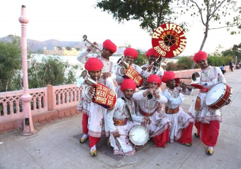 The Rajasthan Heritage Brass Band