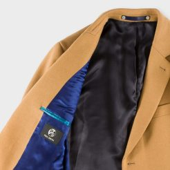Camel Wool-Cashmere Overcoat, £425, Paul Smith