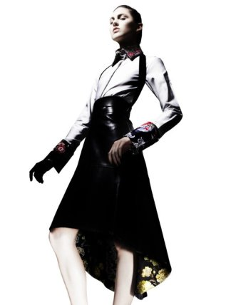 OSMAN – AW12 shot by Alex Franco for the Collective No. 2