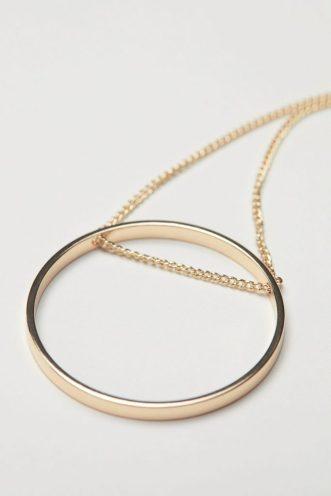 Pendant Necklace, £5.99, H&M