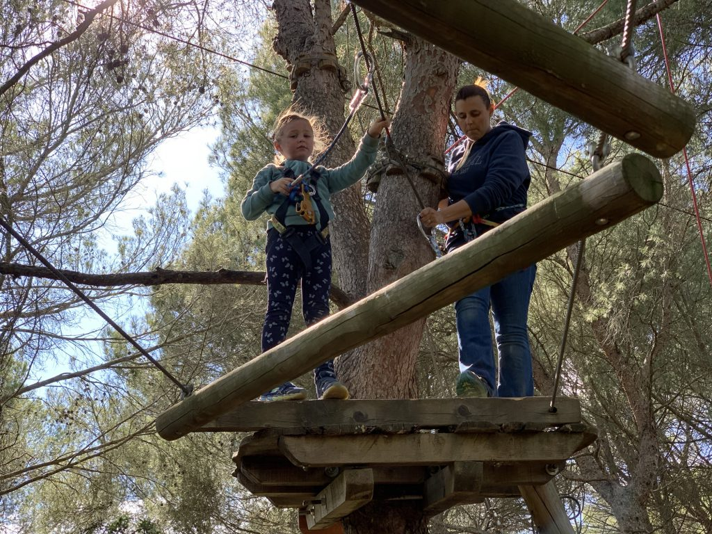 Beziers Adventure high ropes