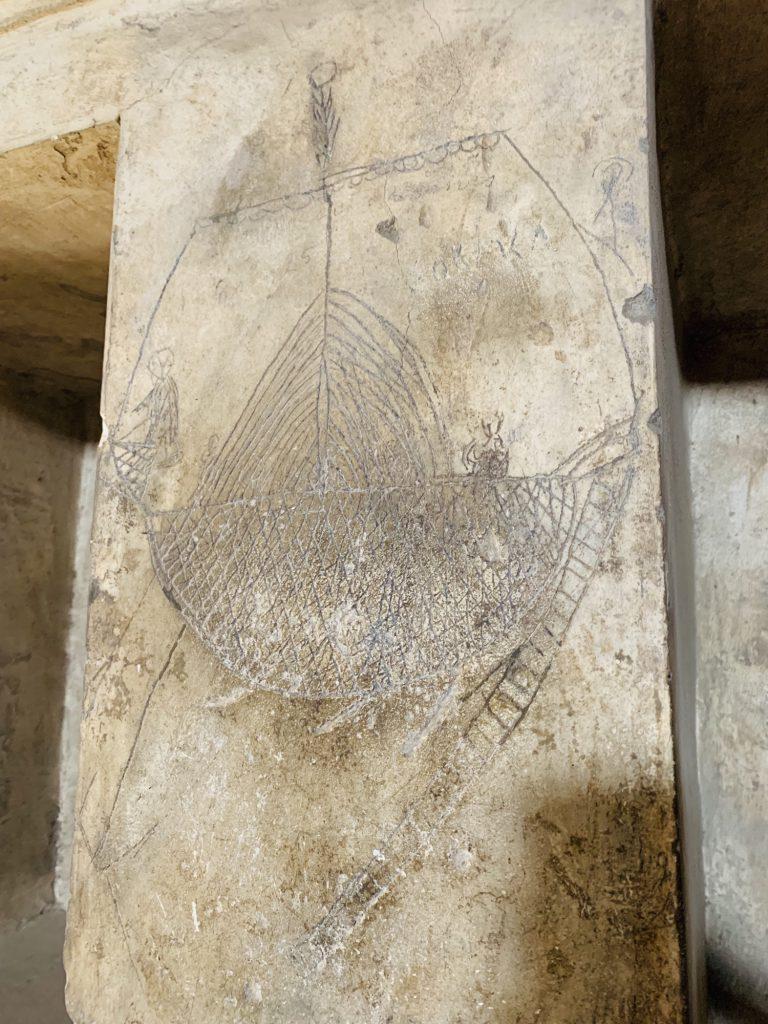 grafitti at pompeii