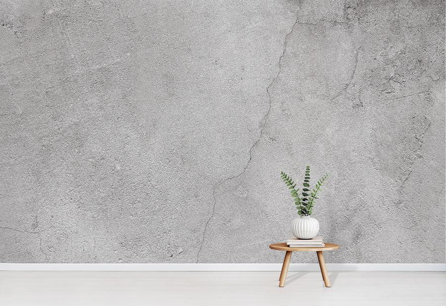 Concrete Effect Wall Wallpaper Mural