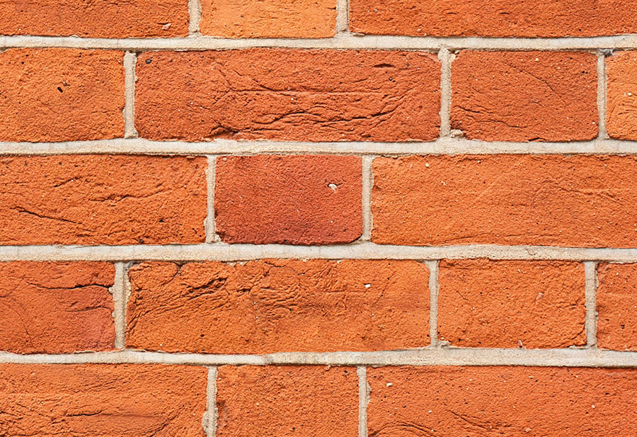 Argent Red Brick Wall Effect wall mural