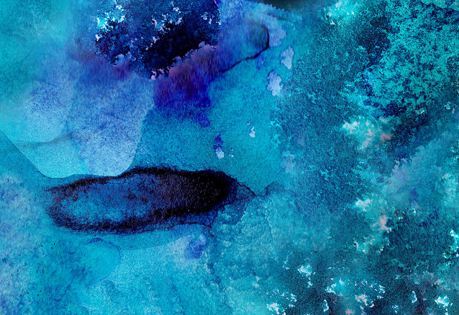 Seaway Azure Wallpaper Mural closeup