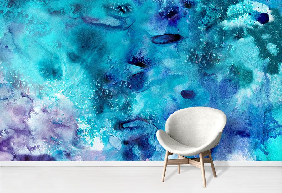 Seaway Azure Wallpaper Mural