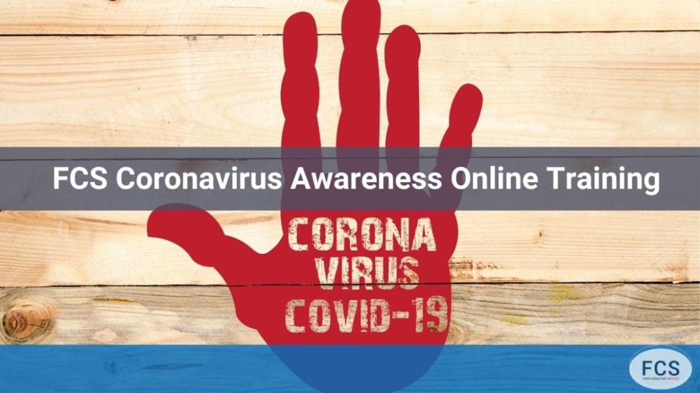 Coronavirus awareness training