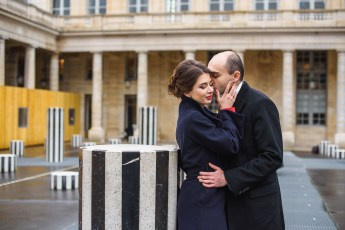 Love story photo session in Paris