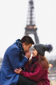 Фотограф в Париже. Фотосессия у Эйфелевой башни love story