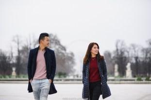 Заснеженный Париж