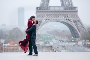 Фотосессия в Париже. Эйфелева башня