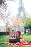 париж цветение. сакура. фотосессия пикник