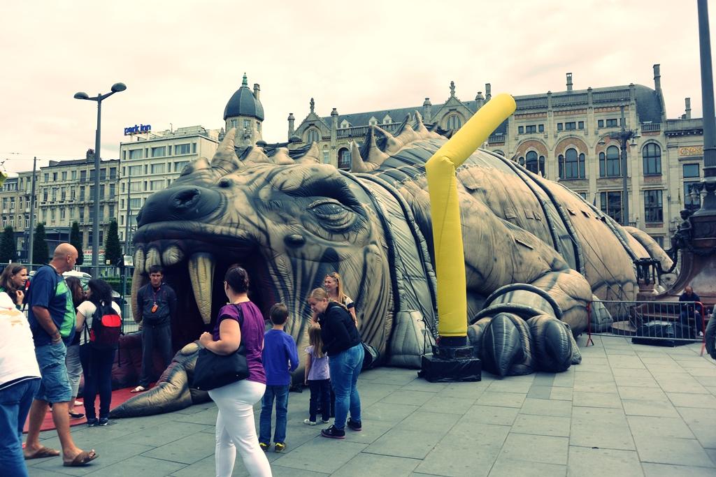 Staycation in Antwerpen