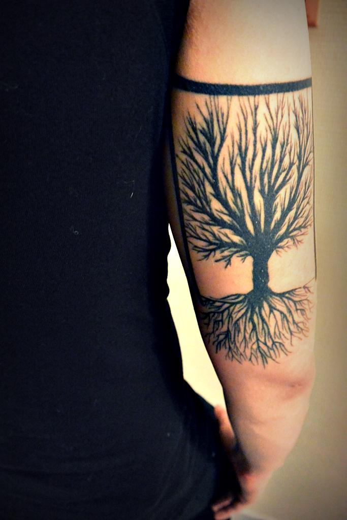 tatoo tree souvenir