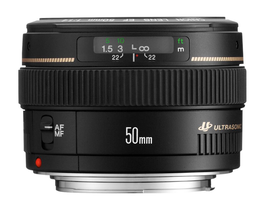 Canon - objektiv - 50 mm - f/1.4 usm - canon ef - fà ¼r eos new eos 2515a012 0082966213014 2515a012 Canon EOS M6 Canon EOS M6 w/ EF-M 15-45mm 1258131 3950817888