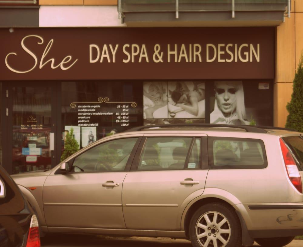 She Day Spa Hair Design Closed Hair Salons Ul Branickiego