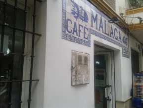 Resultado de imagen de Bar Málaga, Calle Virgen de Luján, Sevilla