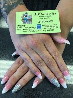 Lv Nails Spa 1636 N Rock Rd Derby Ks Manicurists Mapquest