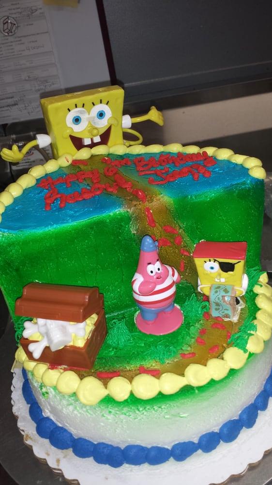 Walmart Spongebob Birthday Cake Ideas And Designs