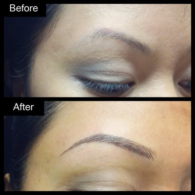 hair stroke eyebrow embroidery permanent make up by joanne yelp