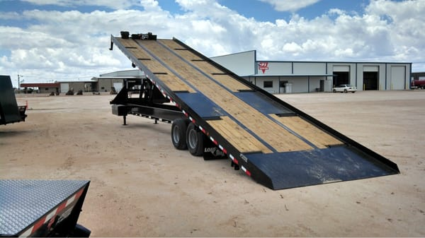 40ft Tilt Bed Trailer For Hauling Containers 866 931 3001