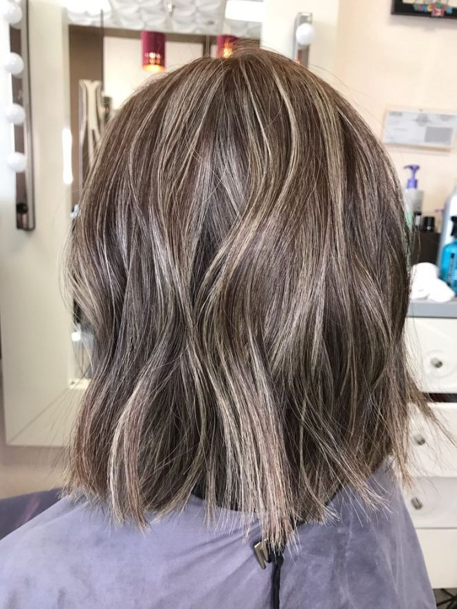 Black hair with ash brown highlights the best black hair 2017 35 smoky and sophisticated ash brown hair color looks pmusecretfo Choice Image
