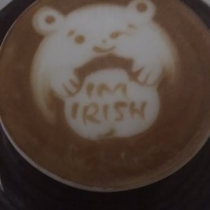 Photo of Spago - Beverly Hills - Beverly Hills, CA, United States. Fermin's free handed critter in a cup. Pretty slick, no?